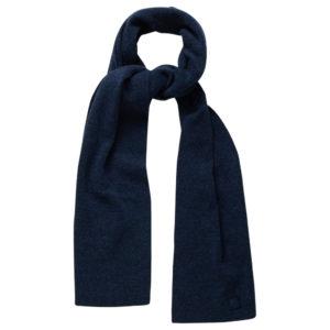 KnowledgeCotton Schal Scarf Organic Wool 82207 insigna blue one size