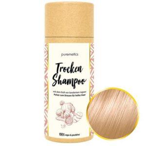 Puremetics Trockenshampoo Ingwer Kandis (für helles Haar)