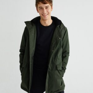Thinking Mu Herren Jacke Peps Trash Green