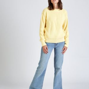 GIVN Damen Pullover Aria Light Yellow