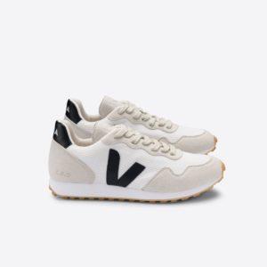 Veja Damen Schuh SDU Rec Alveomesh White Black Natural