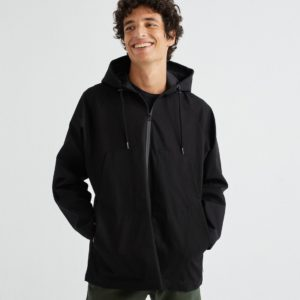 Thinking Mu Herren Jacket Black Peko Trash