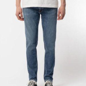 Nudie Jeans Herren Hose Lean Dean Blue Vibes