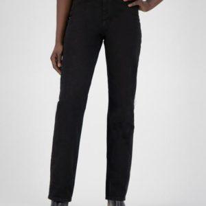 MUD Jeans Damen Jeans Relax Rose Dip Black