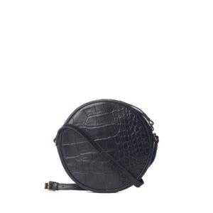 O my Bag Handtasche Luna Black Croco Classic Leather
