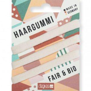 Fair Hair Haargummi 3er Set ecru
