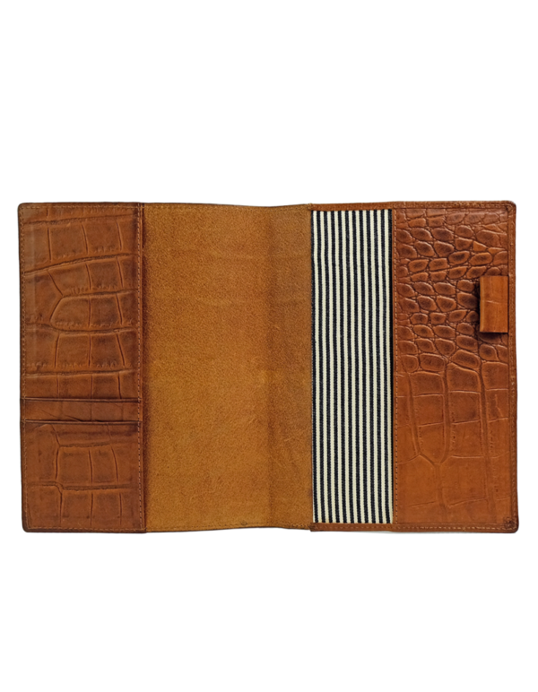 O my Bag Notebook Cover Cognac Classic Croco