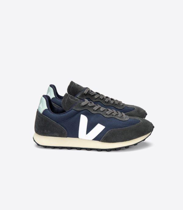 Veja Herren Schuhe Riobranco Alveomesh Nautico_white_graphite