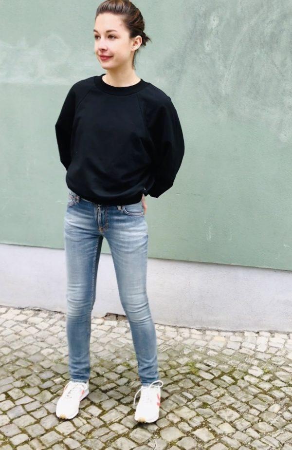 Nudie Jeans Skinny Lin-Misty Blue