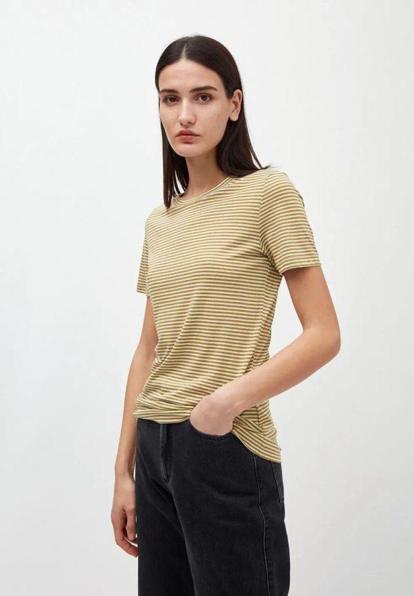 Armedangels Damen T-Shirt Lidaa Ring Stripes, versch. Farben