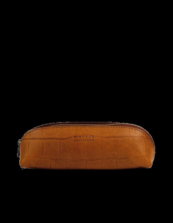 O my Bag Stifttasche Pencil Case Small Cognac Croco