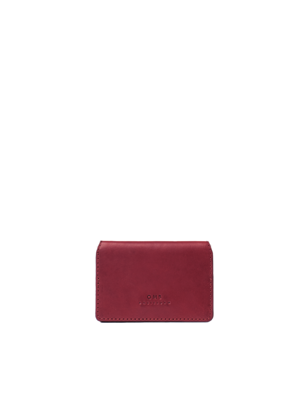 O My Bag Cassies Cardcase Ruby Classic Vachetta