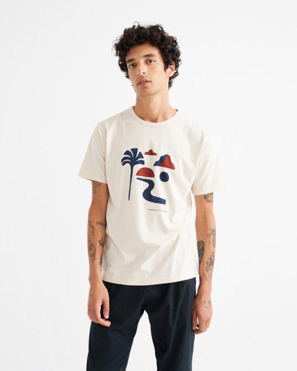 Thinking Mu Herren T-Shirt Oasis