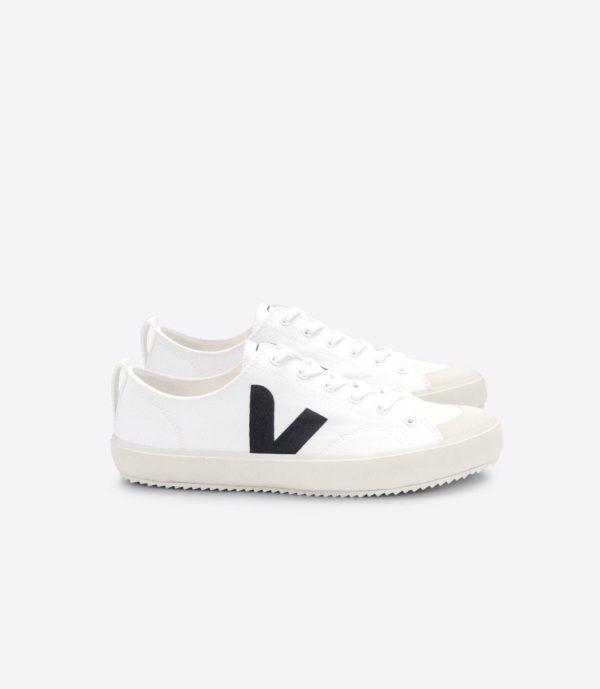Veja Damen Schuhe Nova Canvas white black