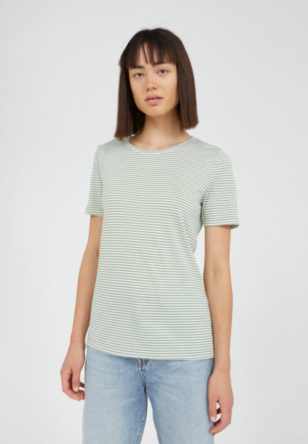 Armedangels Damen T-Shirt Lidiaa Small Stripes