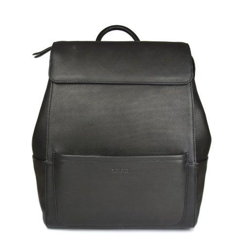 O My Bag Rucksack Jean black soft grain