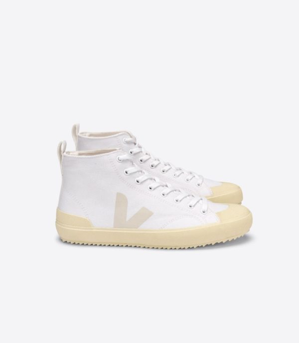 Veja Damen Schuhe Nova-HT Canvas white_butter_sole