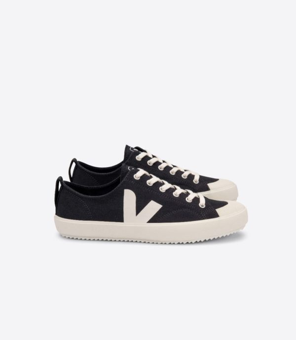 Veja Damen Schuhe Nova Canvas black_pierre