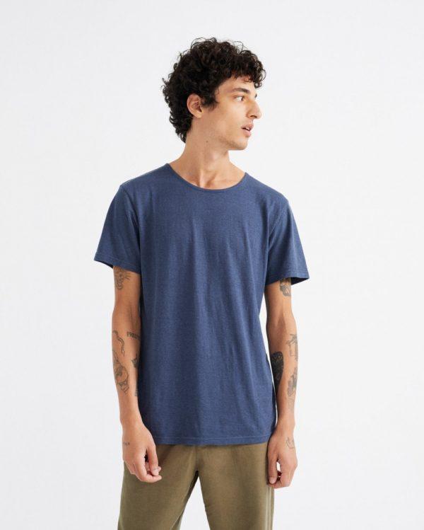 Thinking Mu Herren T-Shirt Hemp Navy