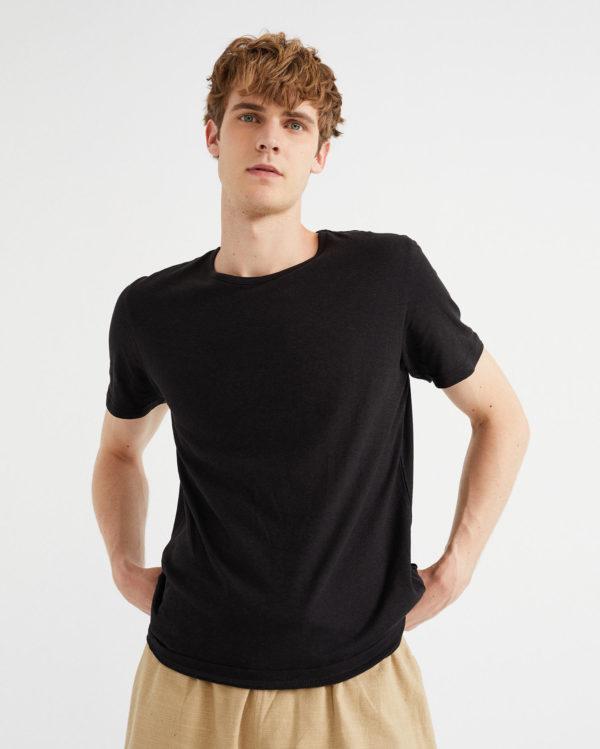 Thinking Mu Herren T-Shirt Hemp Black