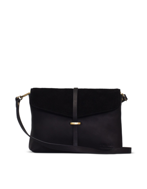 O My Bag Handtasche Ella Midi Eco Midnight Black