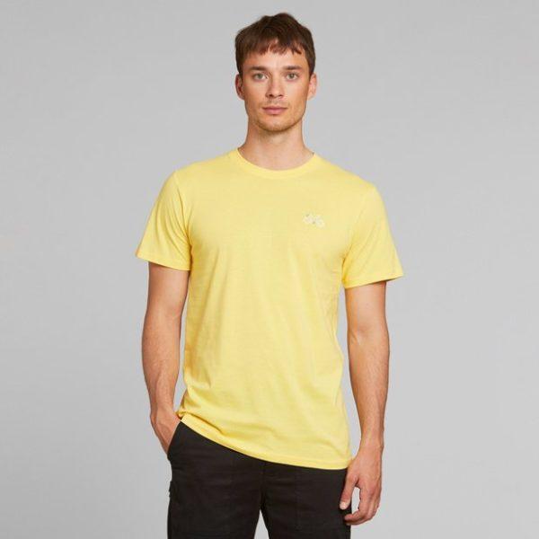 Dedicated Herren T-Shirt Stockholm Stitch Bike yellow snapdragon