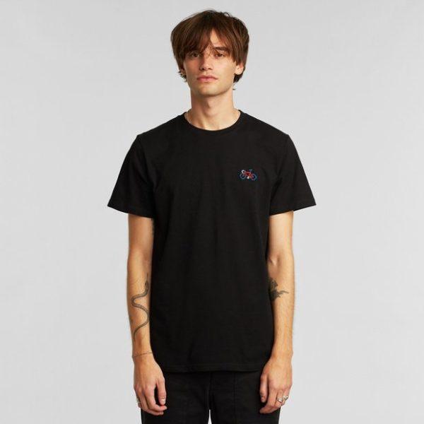 Dedicated Herren T-Shirt Stockholm Stitch Bike black