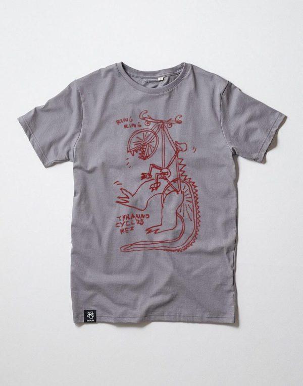Zerum Herren T-Shirt Tyranno Cyclus Rex stone