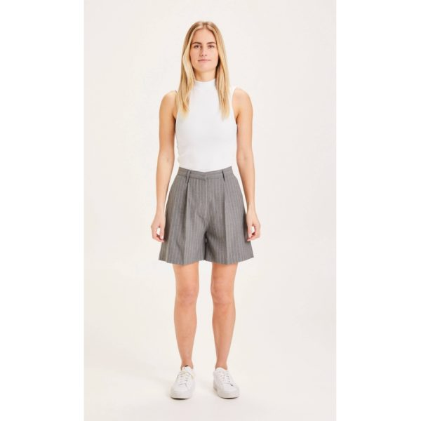 KnowledgeCotton Damen Shorts Posey 500003 grey melange