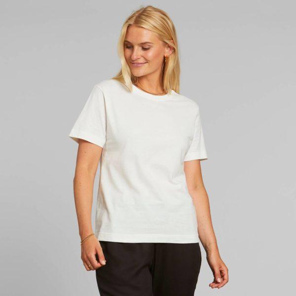 Dedicated Damen T-Shirt Mysen Base Off-White