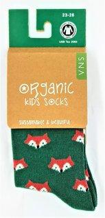 VNS Organic Kinder Socken 1517 Fox