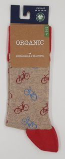 VNS Organic Herren Socken Bicycle Design 1165