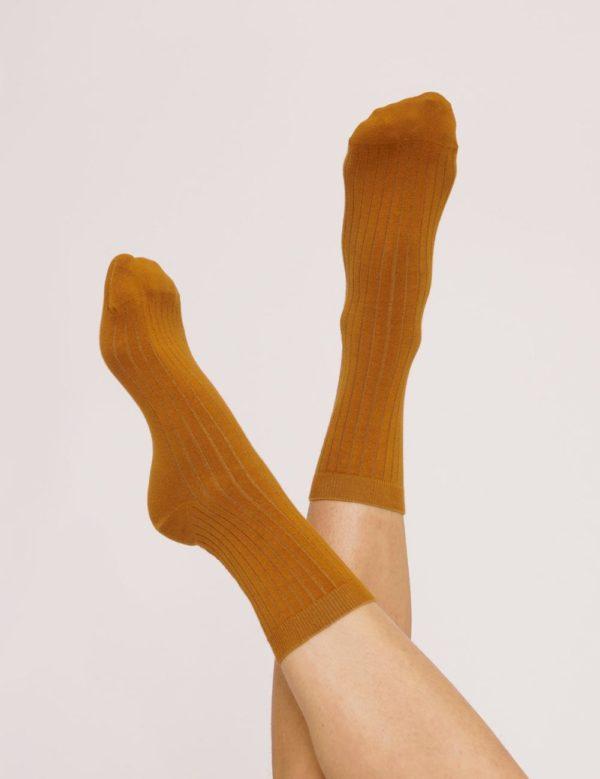 Organicbasics Damen Socken Rib Socks 2-Pack