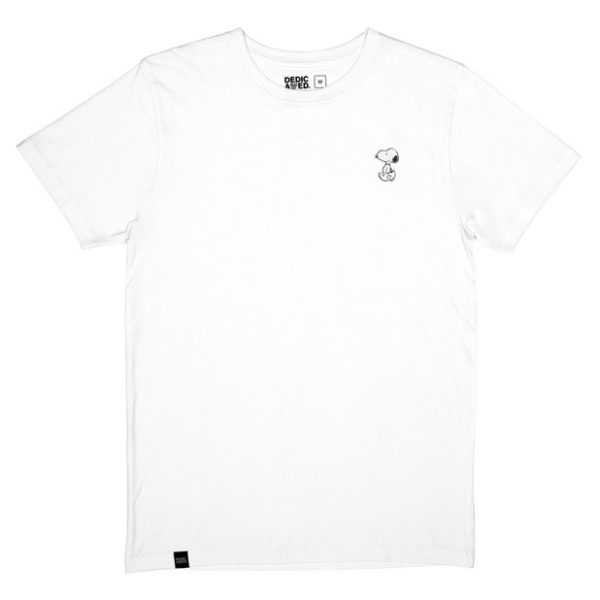 Dedicated Herren T-Shirt Stockholm Snoopy white