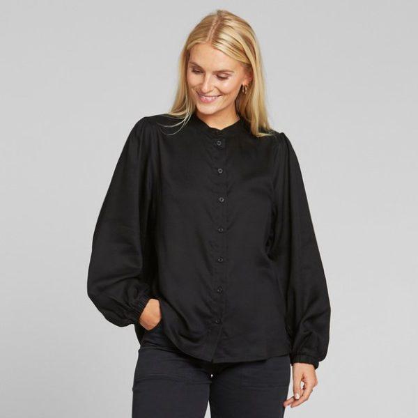 Dedicated Damen Bluse Lycka black