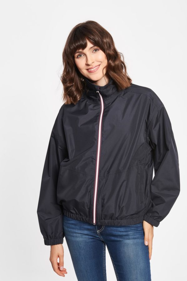 Derbe Damen Regenjacke dark navy