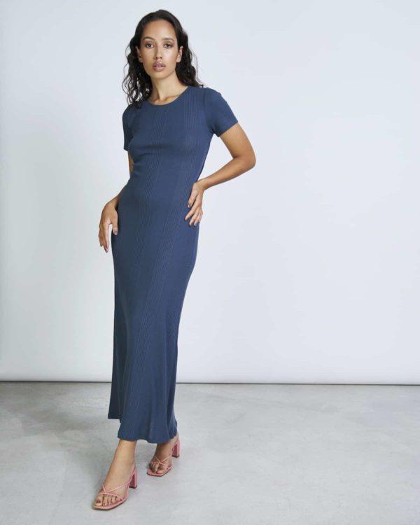 Jan`n June Damen Kleid Vroni ombre blue