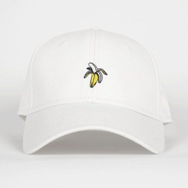 Dedicated Unisex Sport Cap Banana white