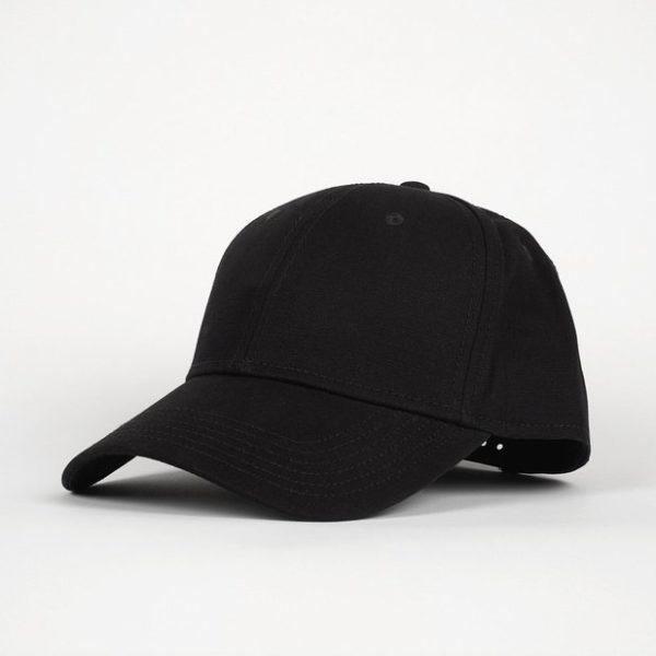 Dedicated Unisex Sport Cap Solid Black