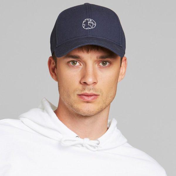 Dedicated Unisex Sport Cap Globe navy