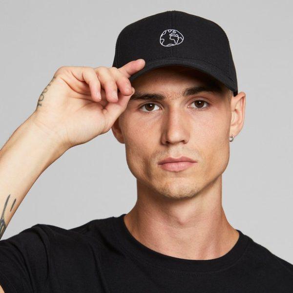 Dedicated Unisex Sport Cap Globe black