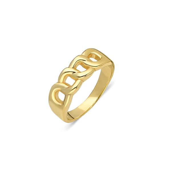 Ana Dyla Ring Nina gold