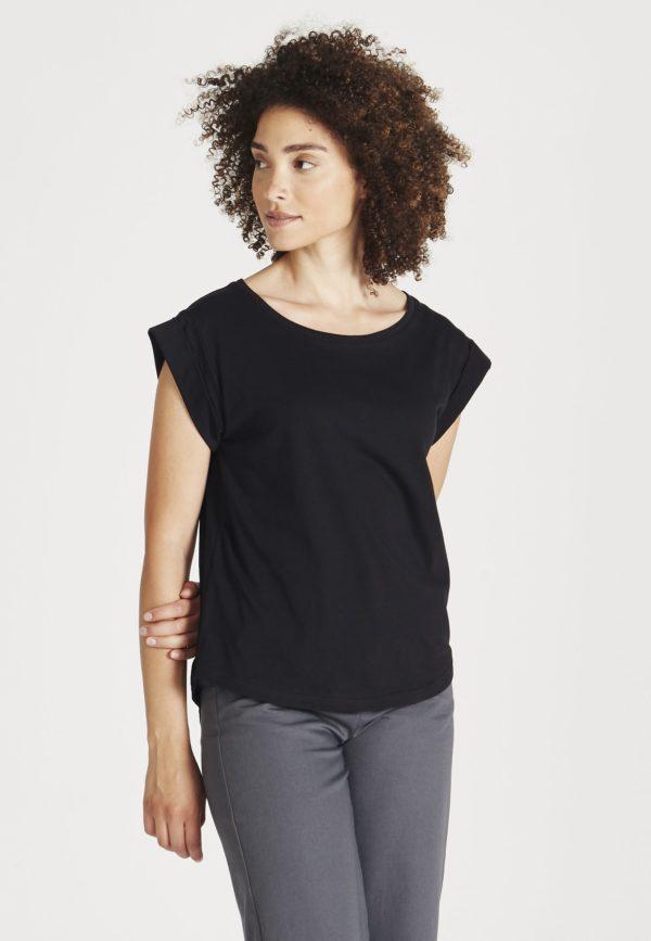 Givn Damen T-Shirt Capri black