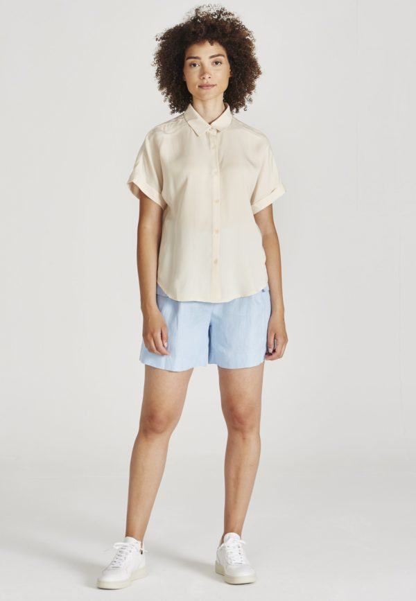 Givn Damen Bluse Sarah off white