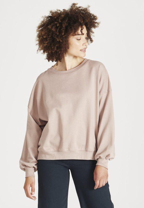 GIVN Damen Pullover Ariana muddy pink