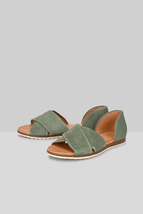 Apple of Eden Damen Sandalen Chiusi khaki