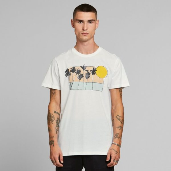 Dedicated Herren T-Shirt Stockholm Sunset Palms