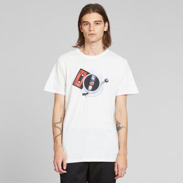 Dedicated Herren T-Shirt Stockholm Morning Music off-white