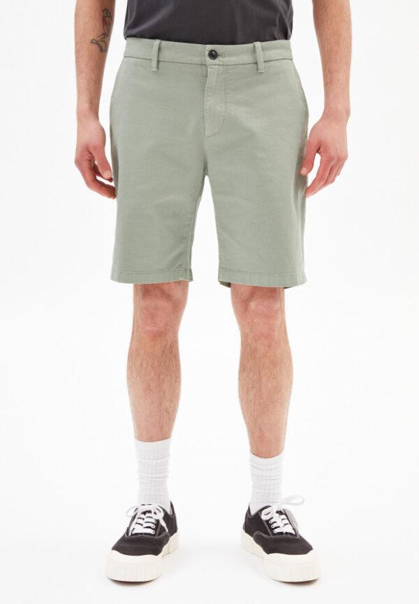 Armedangels Herren Shorts Daante dusty agave