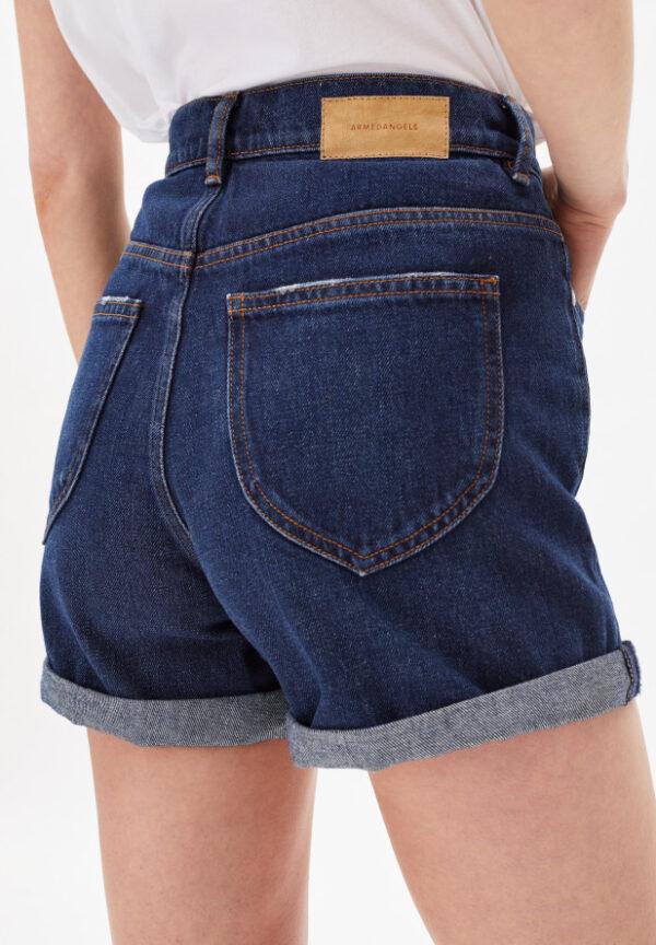 Armedangels Damen Shorts Denim Silvaa simple blue